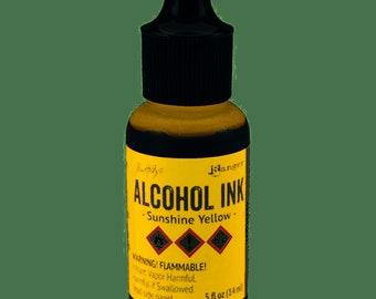 Tim Holtz - Alcohol Inks .5oz - Sunshine Yellow