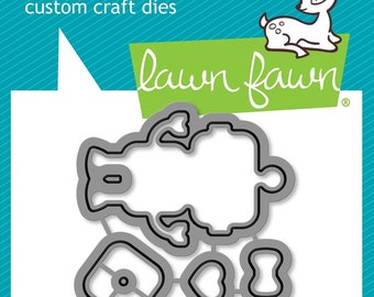 Lawn Fawn - charge me up - lawn cuts