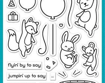 Lawn Fawn-Really High Five-Clear Stamp Set-preorder