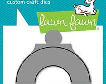 PREORDER-Lawn Fawn-Lawn Cuts-Reveal Wheel Semicircle Add-on