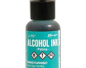 Tim Holtz - Alcohol Inks .5oz - Patina