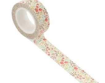 Carta Bella Paper - Fall Market Collection - Decorative Tape - Fall Floral