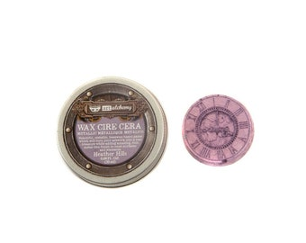Prima - Finnabair - Art Alchemy - Metallique Wax - Heather Hills