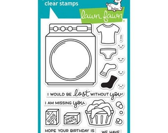 Lawn Fawn - Clear Photopolymer Stamps - Loads of Fun