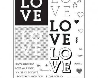 Concord & 9th- Love You So- Stamp Set