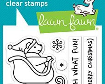 Lawn Fawn - Clear Photopolymer Stamps - Oh What Fun