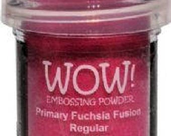 WOW- Embossing Powder- Primary FUCHSIA FUSION- Regular
