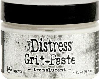 Tim Holtz Distress Grit Paste 3oz - Translucent