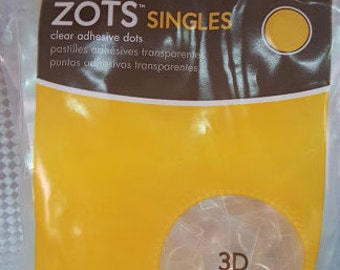 Therm O Web Memory Dots Singles 3D Clear Adhesive Dots