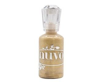 Nuvo - Woodland Walk Collection - Crystal Drops - Mustard Gold
