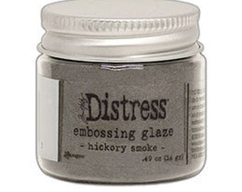 Tim Holtz Distress Embossing Glaze-Hickory Smoke