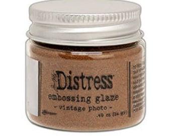 Tim Holtz Distress Embossing Glaze-Vintage Photo