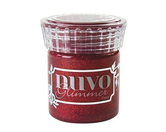 Tonic Studios - Nuvo Collection - Glimmer Paste - Garnet Red