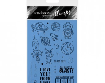 Hunkydory For the Love of Stamps - Out of this World