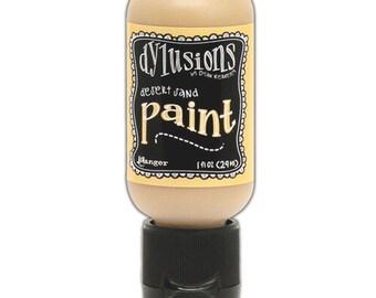 Ranger Ink - Dylusions Paints - Flip Cap Bottle - Vanilla Custard