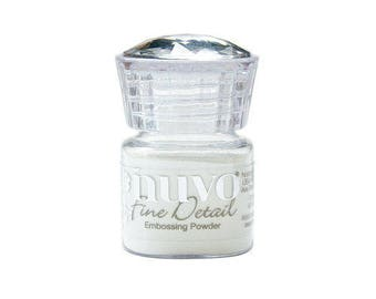 Tonic Studios - Nuvo Collection - Embossing Powder - Microfine - Crystal Clear
