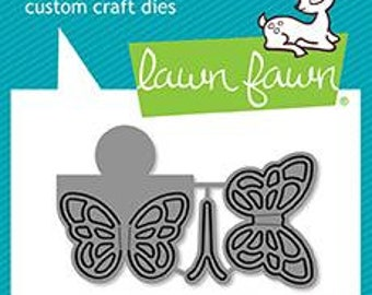 PREORDER-Lawn Fawn-Lawn Cuts-Reveal Wheel Butterfly Add-on