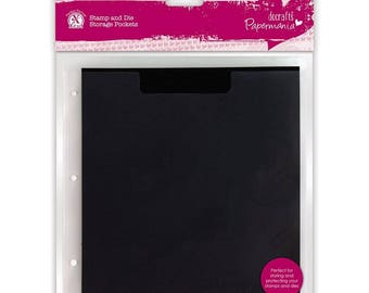 docrafts-Stamp & Die Storage Pockets with Magnetic Shim (10pk)