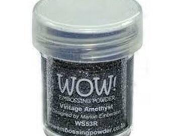 WOW-Embossing Powder-Vintage Amethyst-Embossing Glitter