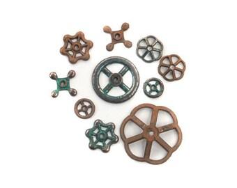 Prima - Finnabair - Mechanicals - Rusty Knobs