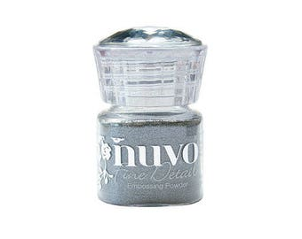 Tonic Studios - Nuvo Collection - Embossing Powder - Microfine - Classic Silver
