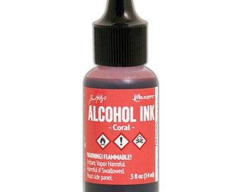 Tim Holtz - Alcohol Inks .5oz - Red Pepper