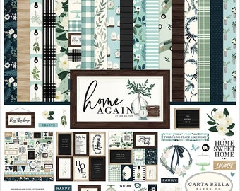 Carta Bella Paper - Home Again Collection - 12 x 12 Collection Kit