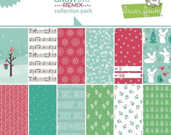 Lawn Fawn-Sow Day Remix Collection Pack-12x12
