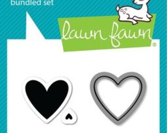 Lawn Fawn- Lawn Cuts- Heart Swatch