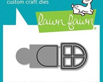 Lawn Fawn-Reveal Wheel Build A House Add-On-Lawn Cuts