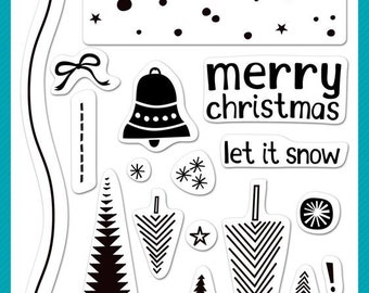 Lawn Fawn-Clear Stamp-Let It Snow