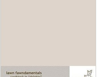 Lawn Fawn-Dolphin Cardstock-8.5x11