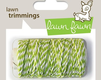 Lawn Fawn - Lawn Trimmings - Bakers Twine Spool - Lime Cord