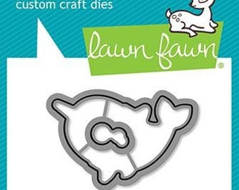 Lawn Fawn-Winter Narwhal-Lawn Cuts