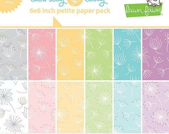 Lawn fawn - dandy day petite paper pack - preorder