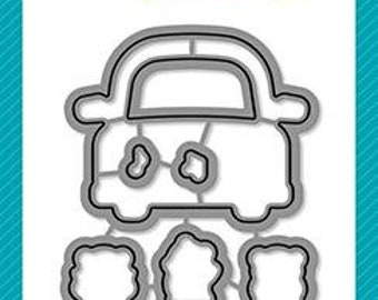 Lawn Fawn-Clear Stamp Set-car critters - lawn cuts