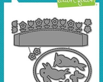 Lawn Fawn-Lawn Cuts-Shadow Box Card Spring Add-on