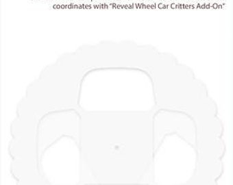 Lawn Fawn-Clear Stamp Set-reveal wheel templates: car critters add-on