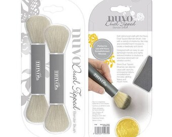 Tonic Studios - Nuvo Collection - Dual Ended Blender Brush