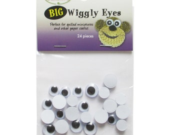 Quilled Creations Big Wiggly Eyes