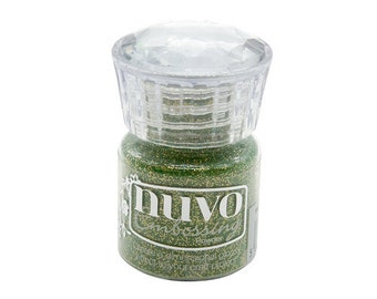 Nuvo - Woodland Walk Collection - Embossing Powder - Glitter - Magical Woodland