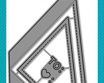 Lawn Fawn-Diagonal Gift Card Pocket-Lawn Cuts