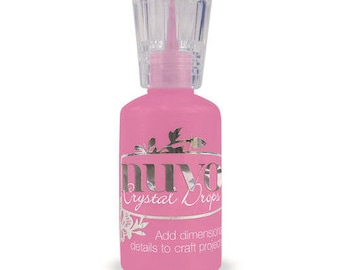 Tonic Studios - Nuvo Collection - Crystal Drops Gloss - Carnation Pink
