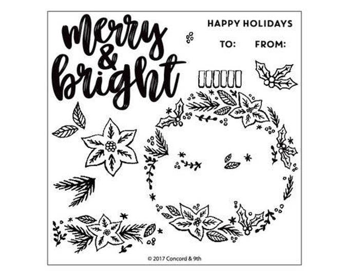 Featured listing image: Concord and 9th - Christmas - Clear Acrylic Stamps - Ornamental