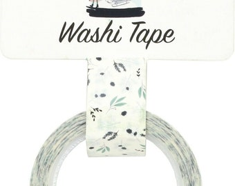Carta Bella Paper - Home Again Collection - Decorative Tape - Home Again Snowy Pines
