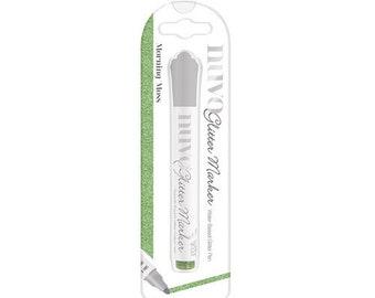 Nuvo - Glitter Marker - Morning Moss