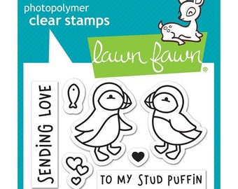 Lawn Fawn - Clear Photopolymer Stamps - Stud Puffin