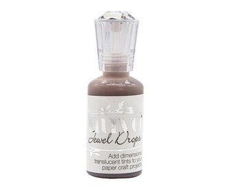 Nuvo - Woodland Walk Collection - Jewel Drops - Cocoa Blush