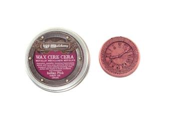 Prima - Finnabair - Art Alchemy - Metallique Wax - Indian Pink
