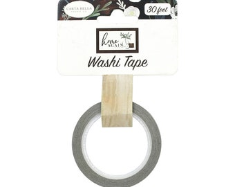 Carta Bella Paper - Home Again Collection - Decorative Tape - Lovely Woodgrain